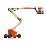 Mobile knuckle boom - 13.9m (45ft) electric - Mega Hire