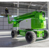 Mobile knuckle boom - 26m (85ft) diesel hybrid - Mega Hire