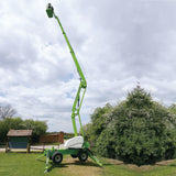 Mobile knuckle boom - 19m (63ft) diesel (stabilised) - Mega Hire