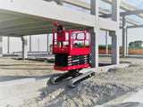 Scissor Lift - 5.8m (19ft) tracked bi-levelling - Mega Hire