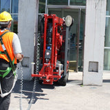 Mobile spider boom - 13m (43ft) Tracks - Mega Hire