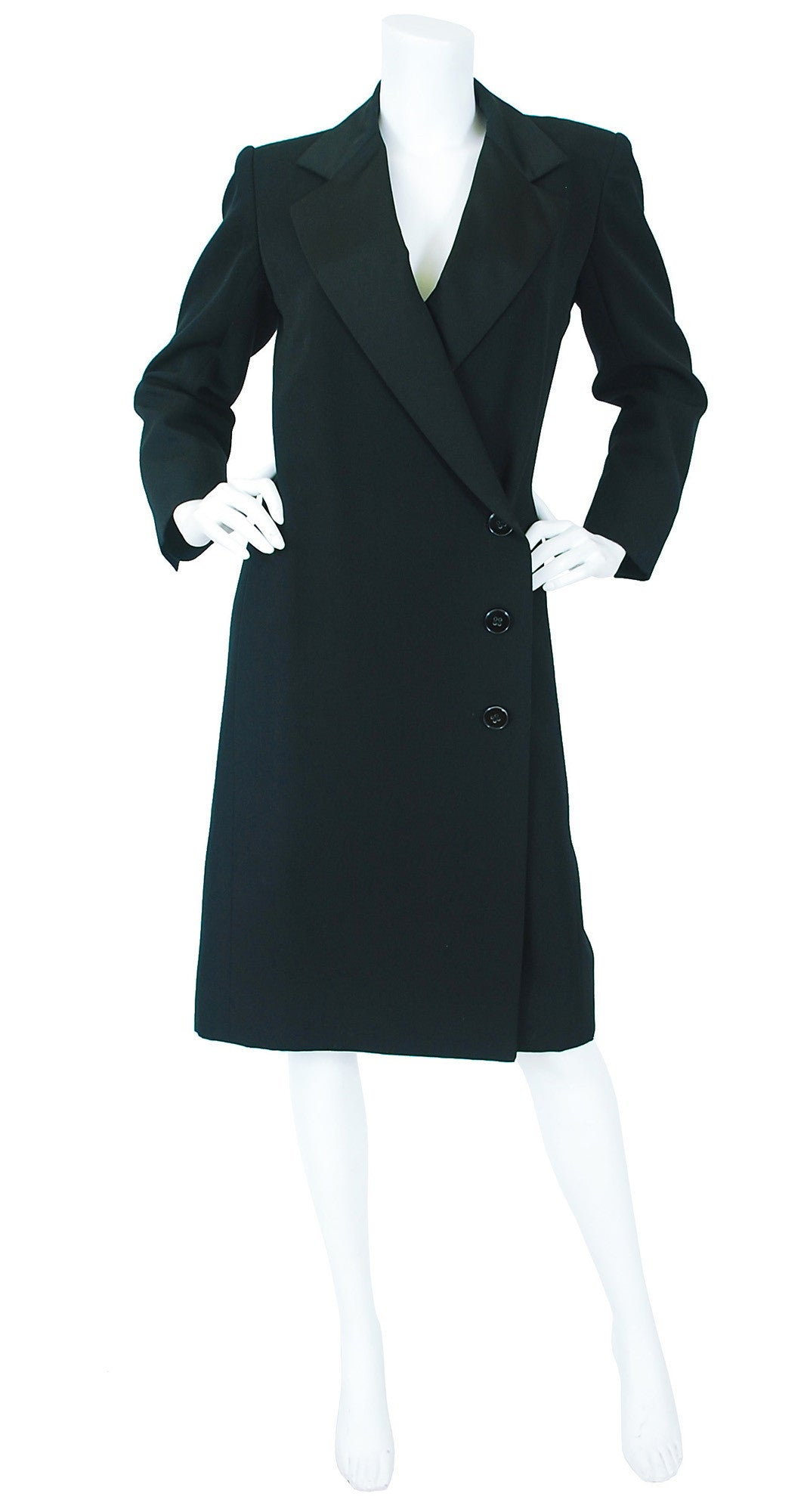 "c.1980 Iconic ""Le Smoking"" Tuxedo Coat"