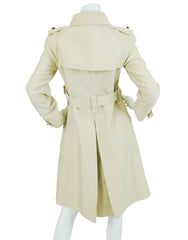 1973 Documented Couture Future Trench Coat