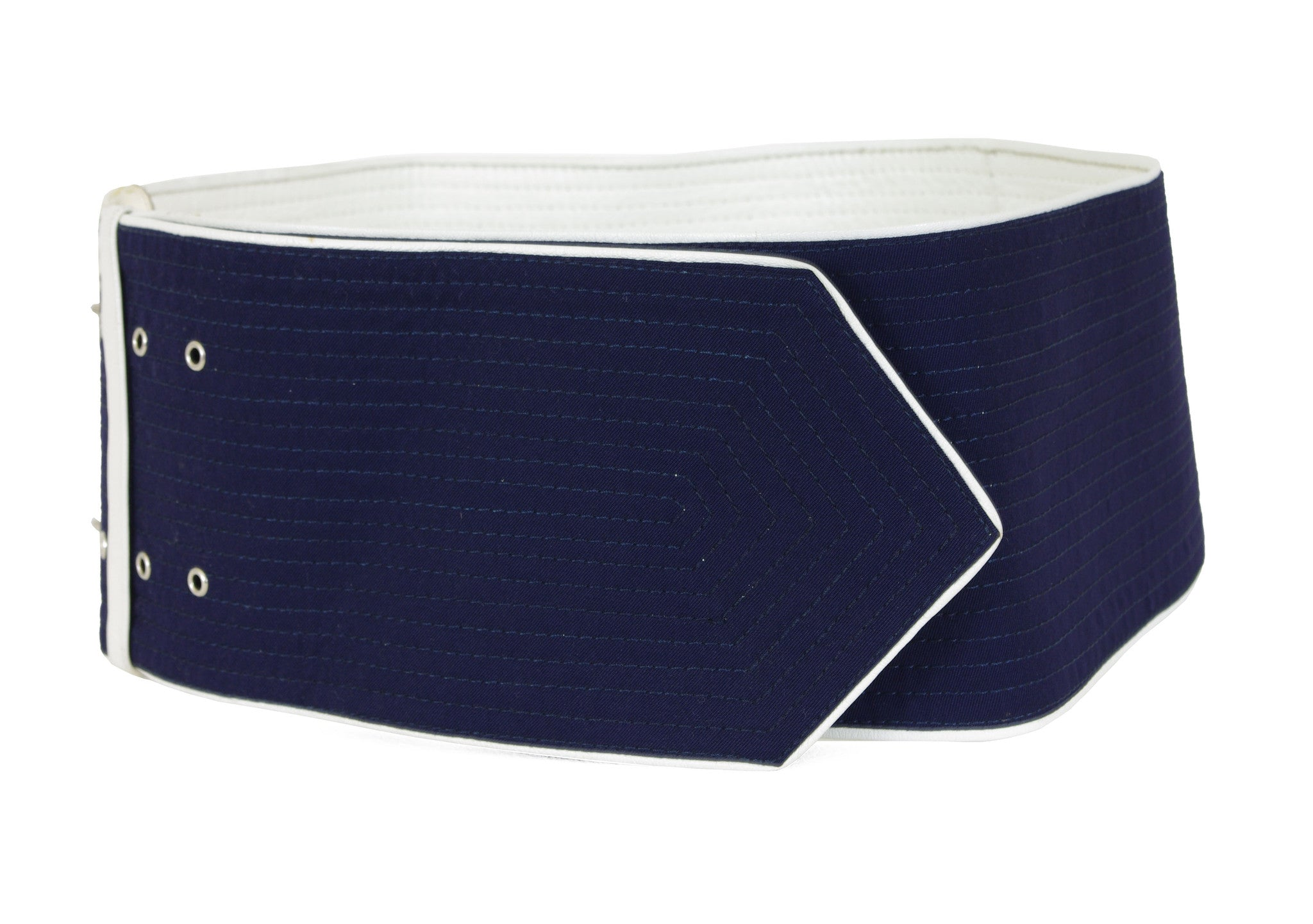 1984 Documented Extra Wide Navy Hip Belt