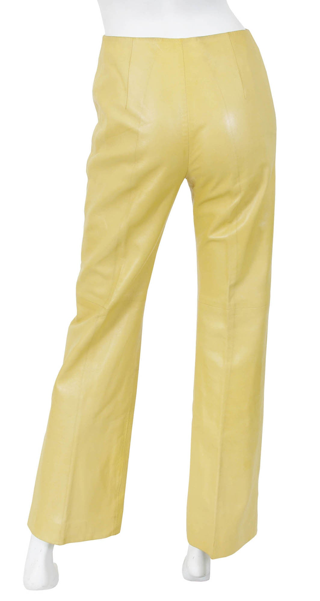 1970s Rare Butter Soft Leather Pants