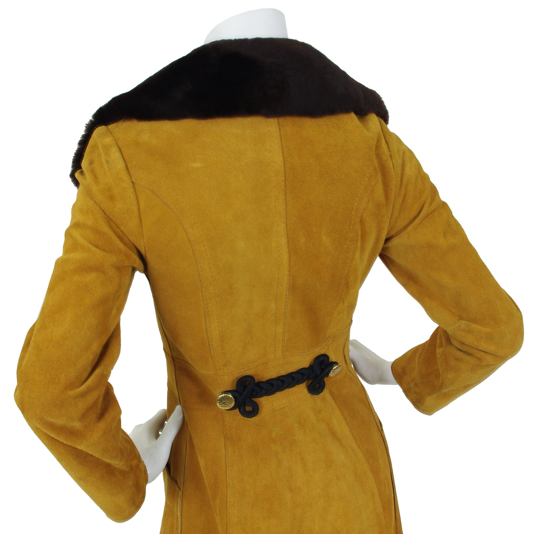 1970's Suede Russian Princess Style Coat