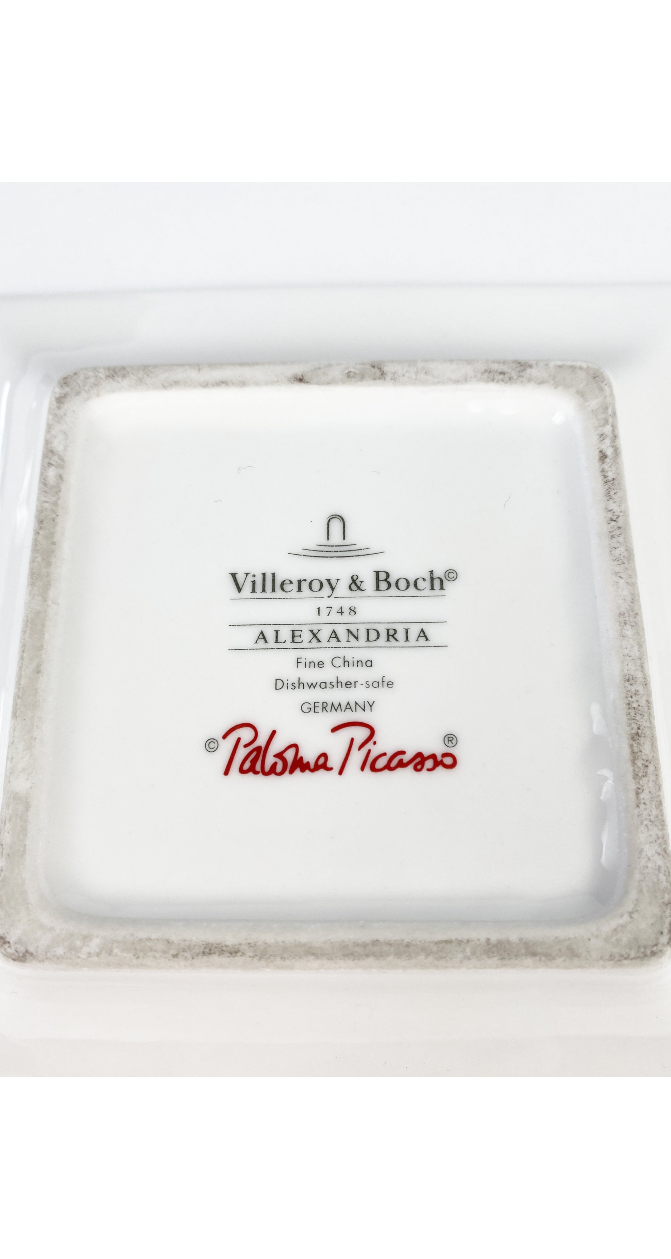 """Alexandria"" Fine Bone China Trinket Dish"