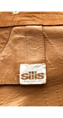 1970-71 F/W Documented Suede Parabola Twist Lock Jacket