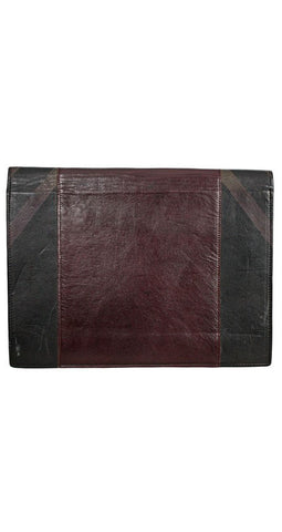 1970's Limited Edition Handmade Leather Clutch