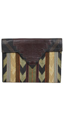 1970s Limited Edition Handmade Leather Clutch