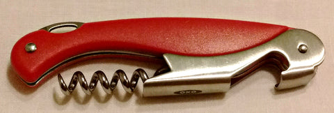 Red OXO Corkscrew