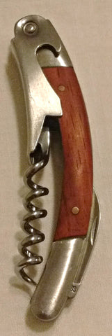 Hardwood Handle Corkscrew