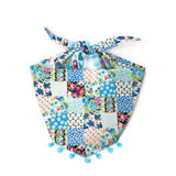 Forget-Me-Not Pom Pom Dog Bandana