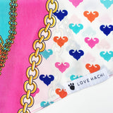 Love Chain Dog Bandana