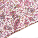 Pink Animal Paisley Reversible Dog Bandana