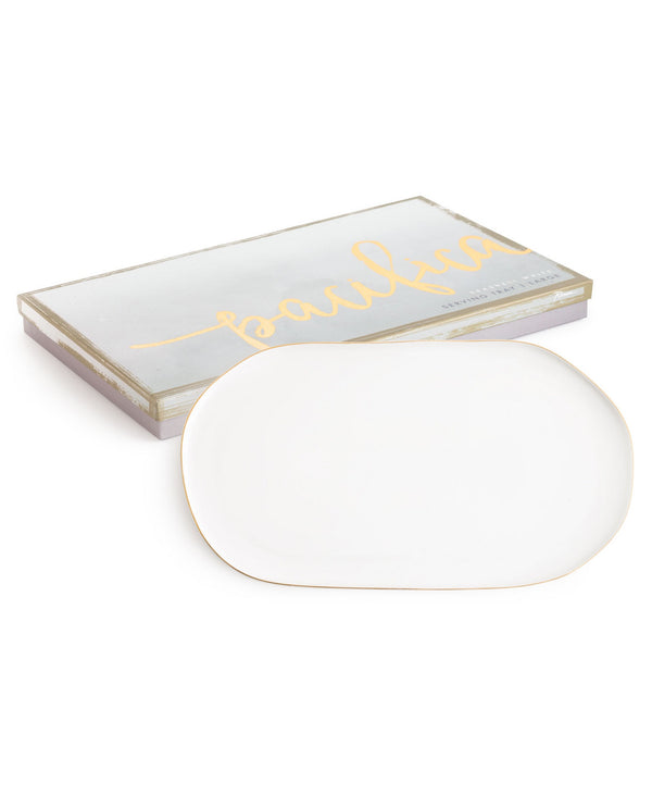 Pacifica Tray In White