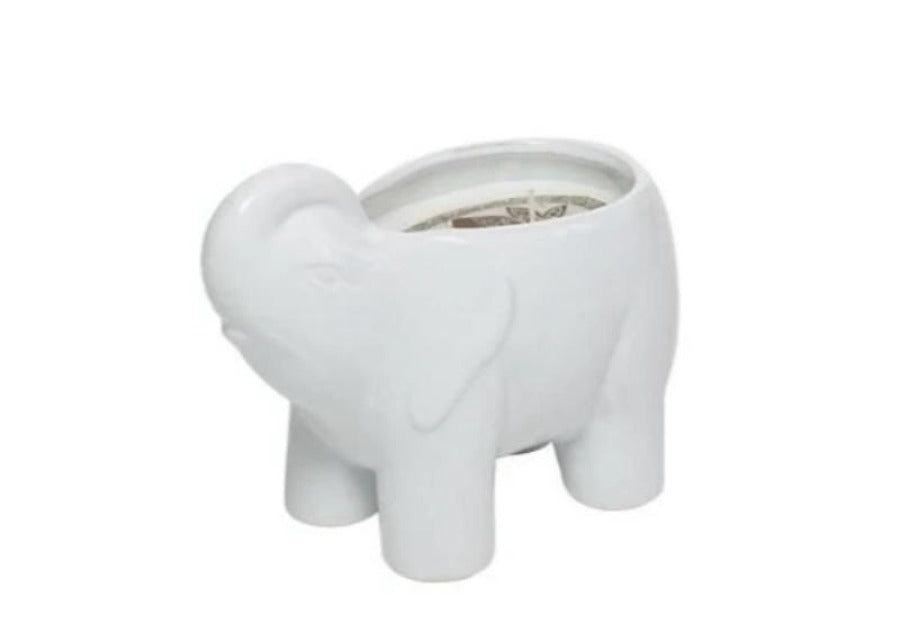 Lotus & Lily White Elephant Candle