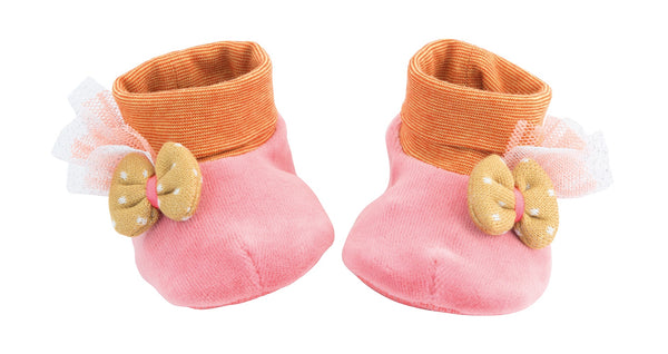 Les Tartempois Chaussons Rose Baby  Slippers