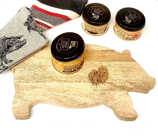 Boar Board Grill Rub Set