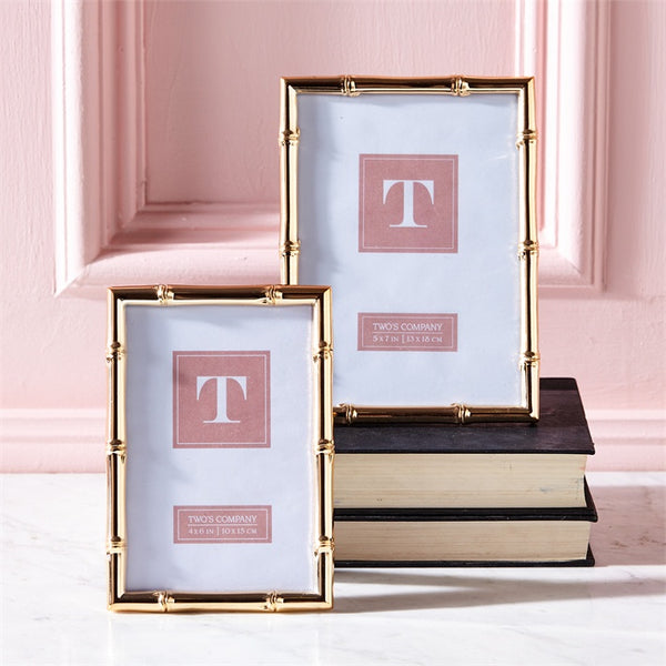 Set of 2 Rose Gold Frames