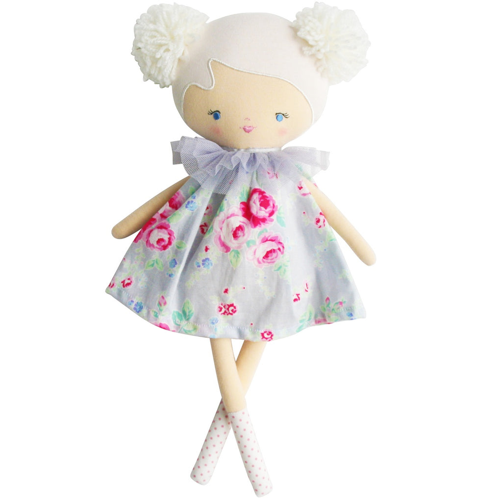 Baby Ellie Doll Silver Floral
