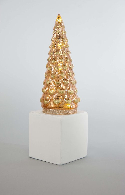 Embossed Glass Lite Tree