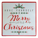 "12"" Merry Christmas Sign"