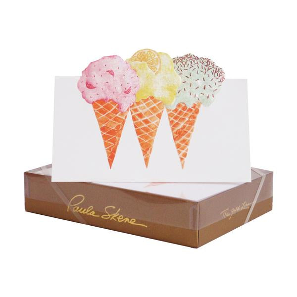 Ice Cream Cones Card