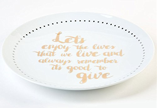 Pass It On Giving Plate