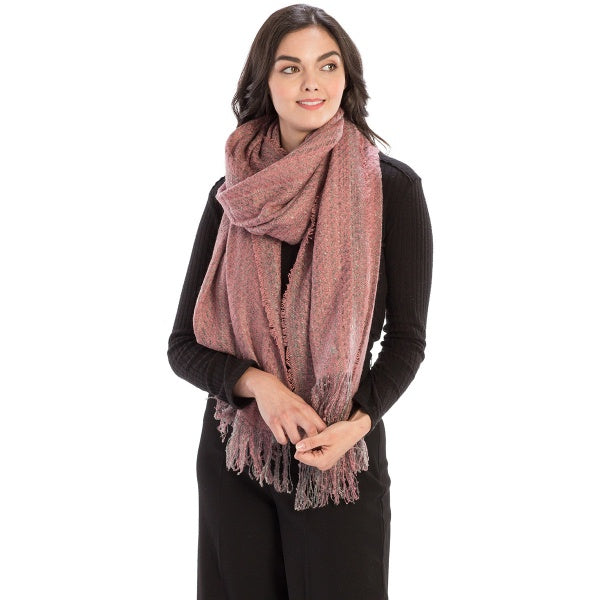 Soft Textured Long Scarf