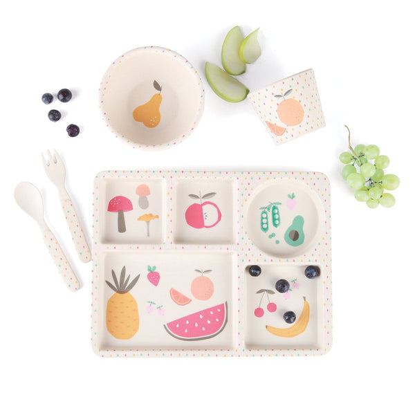 Bamboo 5pc Set- Eat Your Greens