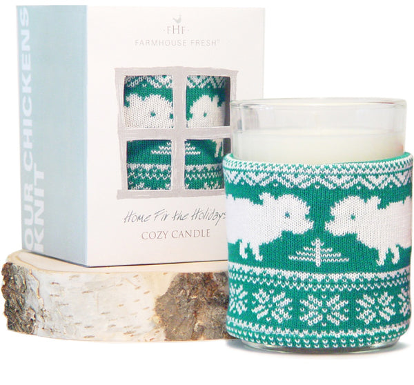 Home For the Holidays Cozy Sweater Candle 7oz.