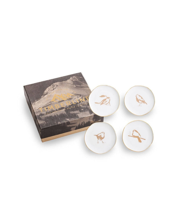 Timberline Bird Plates Set/4