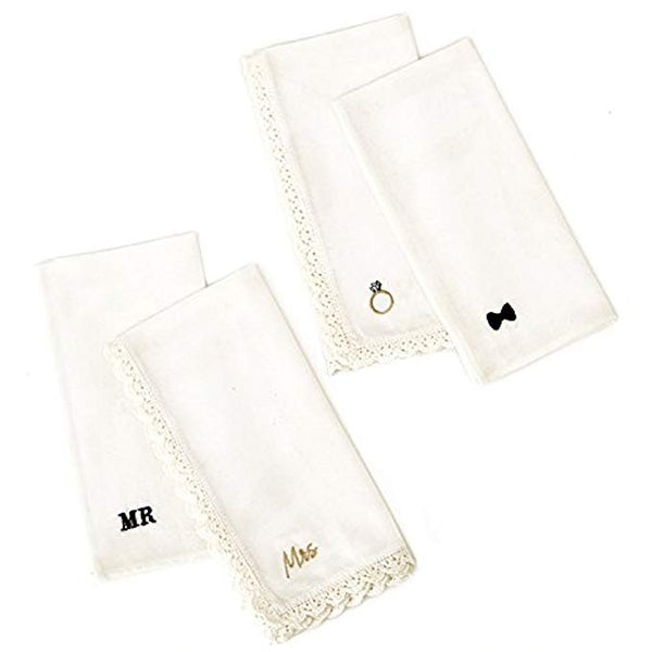 Set of 2 Handkerchiefs Gift Set