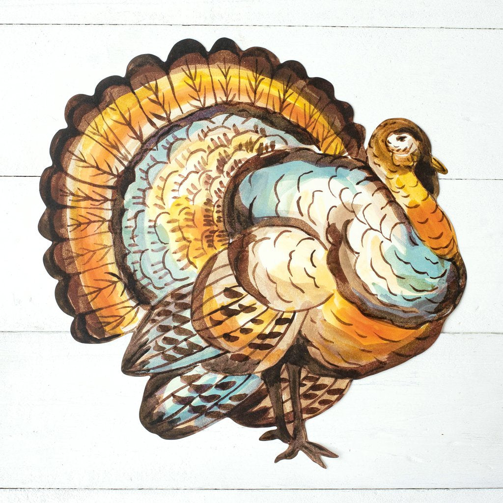 Die Cut Thanksgiving Turkey