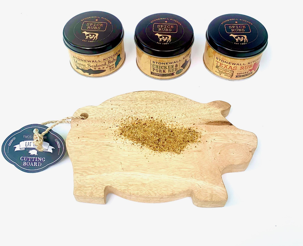 Little Pig Board & Grill Rub Set