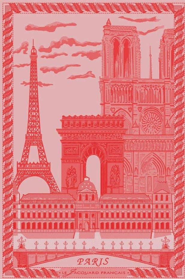 Tea Towel Paris