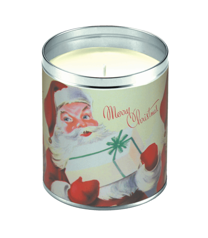 Merry Christmas Santa Candle