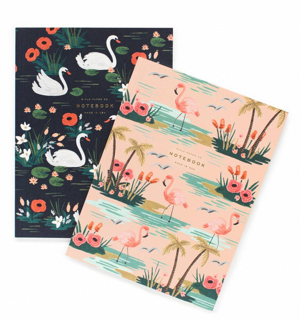 Pair of 2 Birds of a Feather Notebooks