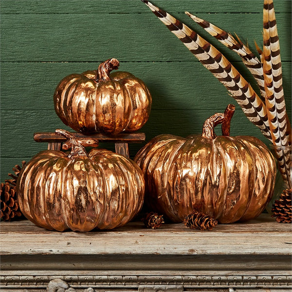 Copper Color Pumpkin