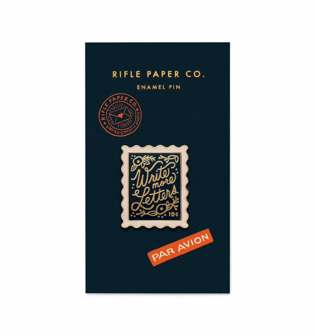 Stamp Enamel Pin