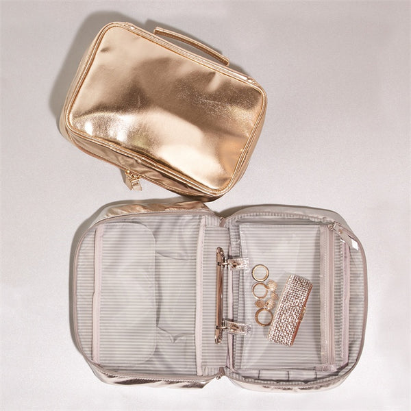 Metallic Travel Organizer