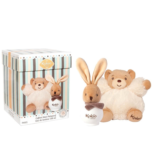 Kaloo Vanilla Chocolate Set with Plush Toy