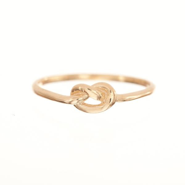 Love Knot Ring 14K Y/G