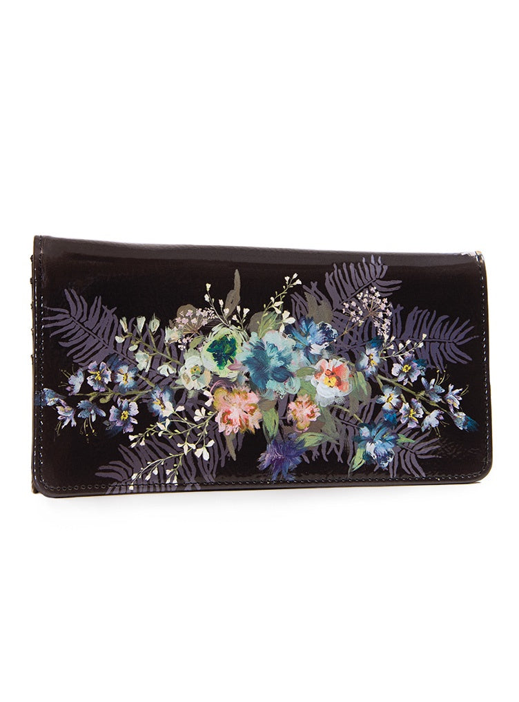 Beauty Bouquet Tri-Fold Wallet