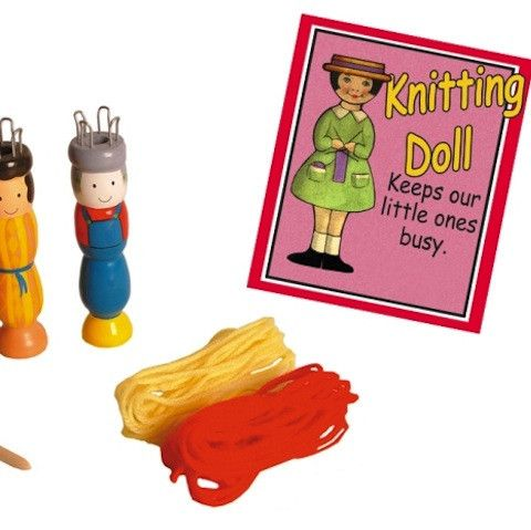 KNITTING DOLL