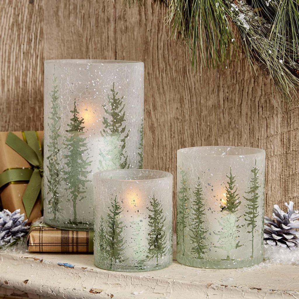 Frosted CandleHolders 3/A