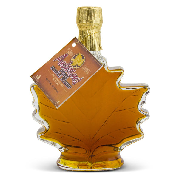 250 ml Maple Leaf Glass Bottle Syrup