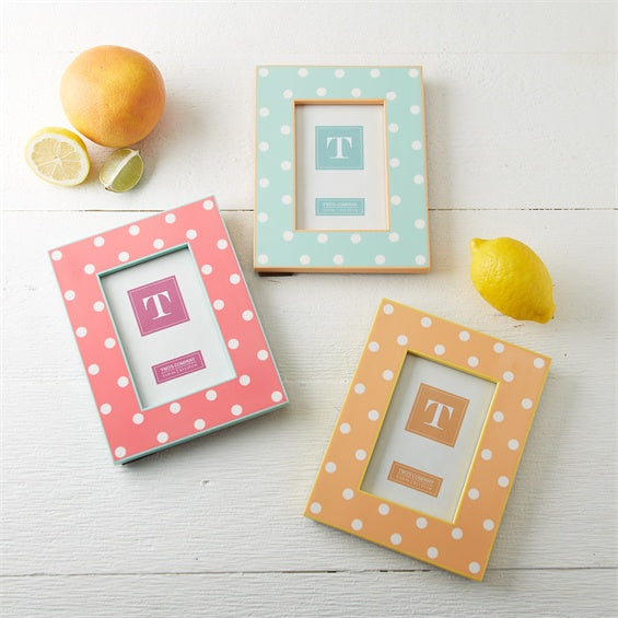 Polka Dot Photo Frame 4x6