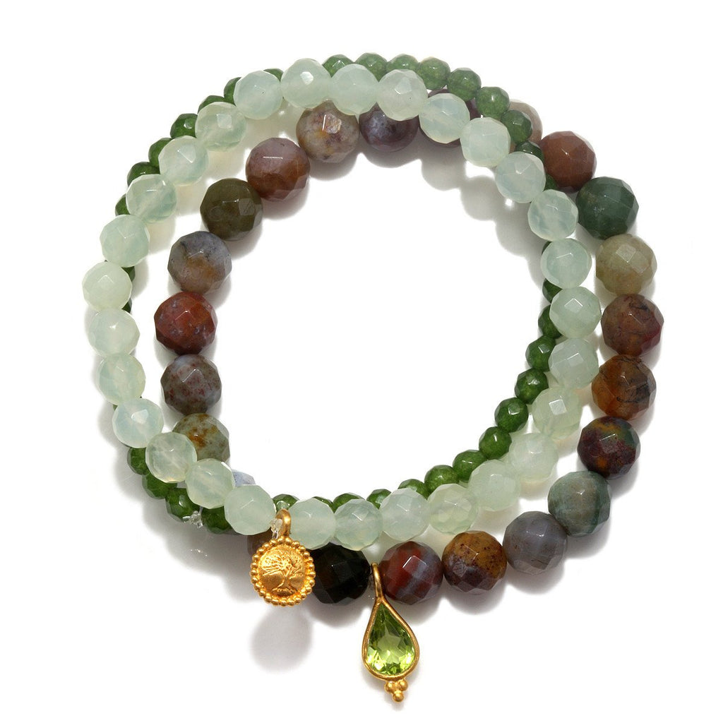 Grounding Tranquility Stretch Bracelet Set